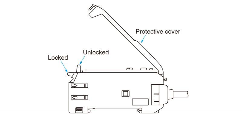 آمپلی فایر سنسور فیبرنوری امرن مدل E3X-NA